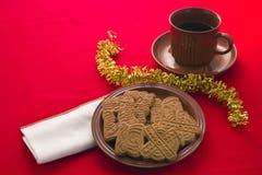 Biscotti aromatizzati di natale Immagini Stock
