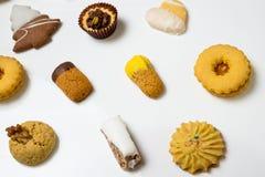 Biscotti asciutti della pasticceria Immagini Stock Libere da Diritti
