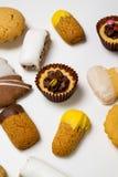 Biscotti asciutti della pasticceria Immagini Stock