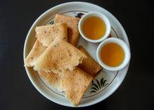 Biscotti asiatici Fotografia Stock Libera da Diritti