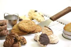 Biscotti Assorted fotografie stock