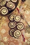 Biscotti di turbinio Fotografia Stock Libera da Diritti