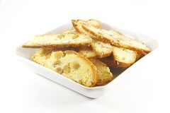 Biscotti Biscuits stock images