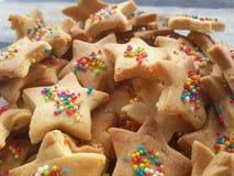 Biscotti casalinghi Fotografia Stock