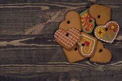 Biscotti casalinghi Fotografie Stock Libere da Diritti