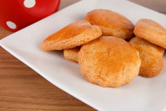 Biscotti casalinghi Fotografia Stock Libera da Diritti
