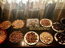 Biscotti casalinghi assortiti di Natale Fotografia Stock Libera da Diritti