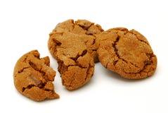 Biscotti casalinghi del cioccolato Immagini Stock