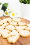 Biscotti casalinghi del pan di zenzero Fotografia Stock Libera da Diritti