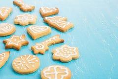 Biscotti casalinghi del pan di zenzero Immagine Stock Libera da Diritti