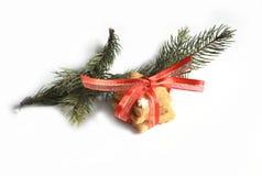 Biscotti casalinghi del pan di zenzero di Natale tavola sul 17 novembre 2014 Immagini Stock