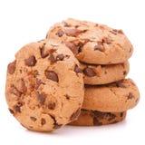 Biscotti casalinghi della pasticceria del cioccolato Immagini Stock Libere da Diritti