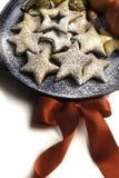 Biscotti casalinghi di Natale Immagini Stock Libere da Diritti