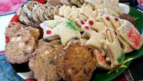 Biscotti casalinghi di natale Immagini Stock