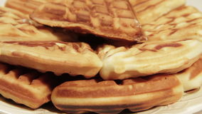 Biscotti casalinghi di recente cotti video d archivio
