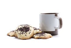 Caffè casalingo Fotografia Stock