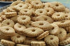 Biscotti casalinghi festivi marocchini Immagine Stock