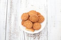 Biscotti casalinghi freschi Fotografia Stock