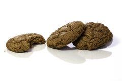 Biscotti casalinghi irresistibili dello zenzero Fotografie Stock Libere da Diritti