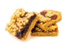 Biscotti casalinghi isolati Immagini Stock Libere da Diritti