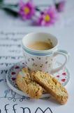 Biscotti casalingo italiano Fotografie Stock Libere da Diritti