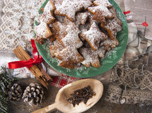 Biscotti casarecci di Natale Royalty Free Stock Images