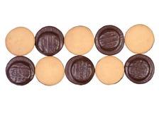Biscotti in cioccolato immagini stock libere da diritti