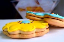 Biscotti a colori fotografia stock