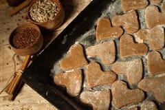 Biscotti con cannella 8 Immagini Stock Libere da Diritti