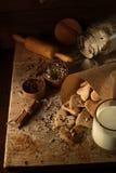 Biscotti con cannella 12 Immagine Stock