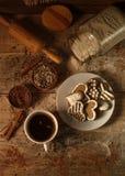 Biscotti con cannella 15 Fotografie Stock Libere da Diritti
