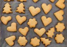 Biscotti con cannella Fotografia Stock Libera da Diritti