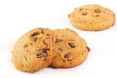 Biscotti con cioccolato Fotografia Stock