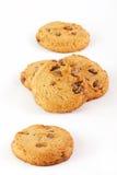 Biscotti con cioccolato Immagine Stock Libera da Diritti