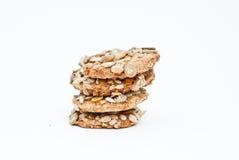 Biscotti con i grani Fotografie Stock Libere da Diritti