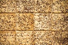 Biscotti con i semi Fotografie Stock