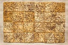 Biscotti con i semi Immagine Stock