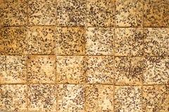 Biscotti con i semi Fotografia Stock Libera da Diritti
