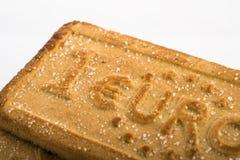 Biscotti con i simboli di valuta Immagine Stock