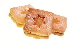 Biscotti con la cagliata di limone Fotografie Stock