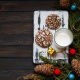 Biscotti con le crepe Immagine Stock