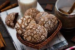 Biscotti con le crepe Immagini Stock