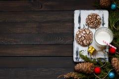 Biscotti con le crepe Fotografie Stock