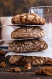 Biscotti con le crepe Fotografia Stock