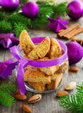 Biscotti cookies Stock Photography
