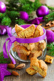 Biscotti cookies Stock Images