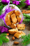 Biscotti cookies Royalty Free Stock Photos
