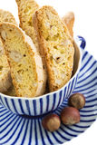 Biscotti in a cup. Royalty Free Stock Image