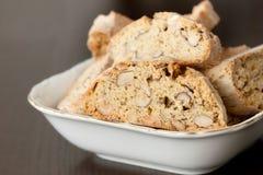 Biscotti de noix photo stock