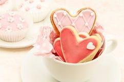 Biscotti decorati Fotografia Stock